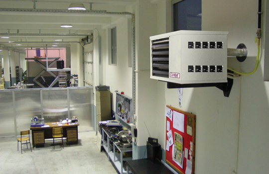 An introduction to warm air heating